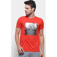 Camiseta Adidas Skull Ball - Masculino-Vermelho