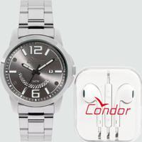 Kit Relógio Masculino Condor Co2115Ktkk3C