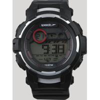 Relógio Digital Speedo Masculino - 11009G0Evnp2 Preto - Único
