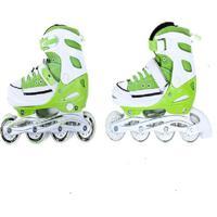 Patins Bel Sports All Style Street Rollers - Unissex-Verde