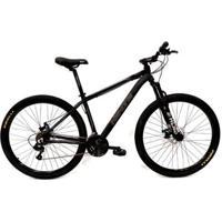 Bicicleta Aro 29 Highone 27 Vel Câmbio Tras. Acera Hidráulico Susp. Com Trava - Unissex