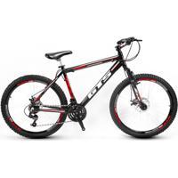 Bicicleta Gts Feel Aro 26 Freio À Disco 24 Marchas - Unissex