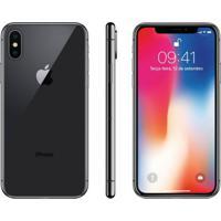 "Iphone X Apple 64Gb Cinza Espacial Tela Super Retina Hd Oled 5.8"" Ios"