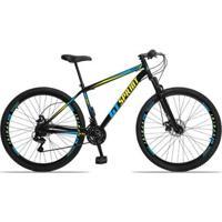 Bicicleta Gt Sprint Mx1 Aço Câmbio Shimano 21 Marchas Freio A Disco E Suspensão Aro 29 - Unissex