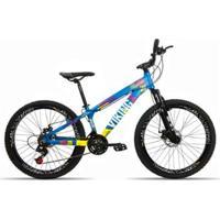 Bicicleta Aro 26 Vikingx 21 Velocidades Index Aro Vmaxx Freio Disco - Unissex