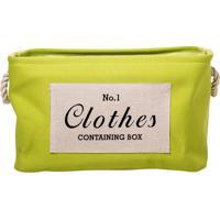 Cesto Para Roupas Laundry Clothes Green GTrevisan Concept