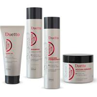 Kit Proteção Da Cor 1 Shampoo 300Ml + 1 Cond 300Ml + 1 Máscara 200Ml + 1 Leave-In 500G - Unissex-Incolor