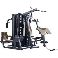 Estação De Musculação Com 204Kg Wct Fitness Pro-Deluxe