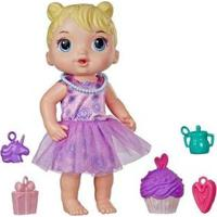 Boneca Baby Alive Bebê Festa De Presente Com Acessórios - Feminino-Rosa