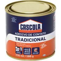 Adesivo De Contato Cascola Tradicional 195Gr - Cascola - Cascola