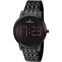 Relógio Champion Feminino Digital Ch40008D - Feminino-Preto