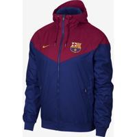 84c545d9a3 ... Jaqueta Nike Barcelona Windrunner Masculina
