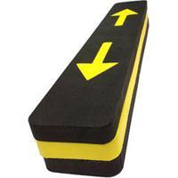 Protetor Fixtil De Para-Choque Alto Preto E Amarelo