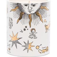 Fornasetti Forn Otto Astronomici Bianco (Gold) Cand - Branco