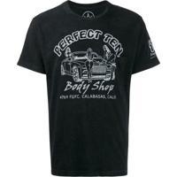 Local Authority Camiseta Com Estampa Body Shop - Preto