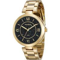 Relógio Mondaine 76615Lpmvde2 Feminino - Feminino-Dourado