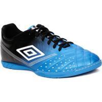 be37b69bec Tênis Futsal Masculino Umbro Fifty Indoor Azul Preto