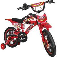 Bicicleta Infantil Aro 16 Moto Bike Cross Unitoys - Masculino