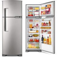 Refrigerador Brastemp Duplex Clean Frost Free Inox 378L Brm42