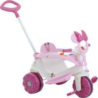 Triciclo Velobaby Disney - Minnie Bandeirante Rosa
