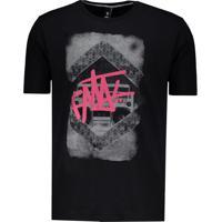 Camiseta Fatal Radio Skull Preta