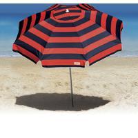 Guarda-Sol Ombrelone Tobee Cancun 2.20M Articulável Marinho/Vermelho