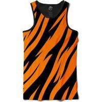 Camiseta Bsc Regata Pele De Tigre Full Print - Masculino