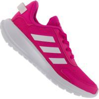 Tênis Adidas Tensaur Run K Feminino - Infantil - Rosa/Branco