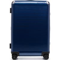 Fpm – Fabbrica Pelletterie Milano Mala De Mão Spinner Light 68 - Azul