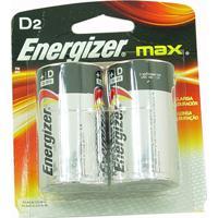Pilhas Energizer Max D2 Alcalínas