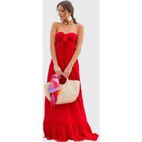 Vestido Cris Vermelho