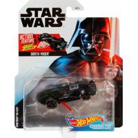 Carrinho Star Wars Hot Wheels Darth Vader - Mattel - Tricae