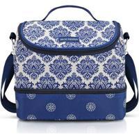 Bolsa Térmica Com 2 Compartimentos Jacki Design Bella Vitta - Unissex-Azul