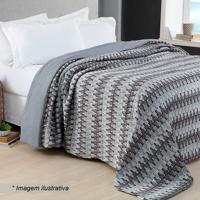 Conjunto De Colcha Comfort Home Design Queen Size- Cinzacorttex