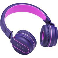 Fone Fun Bluetooth Rosa/Roxo Ph217 - Pulse
