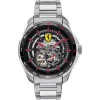 Relógio Scuderia Ferrari Masculino Aço - 830689