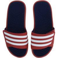 Chinelo Adidas Adissage Tnd - Slide - Masculino - Vermelho/Branco