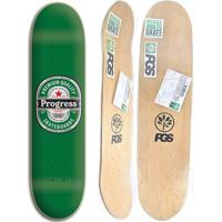 Shape De Skate Progress - Pgs Cerveja 8.0 + Lixa Grátis - Unissex