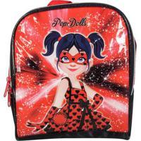 Lancheira Infantil Térmica Pop Dolls La32743Pd Feminina - Feminino-Vermelho