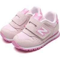 Tênis New Balance Menina K373 Rosa