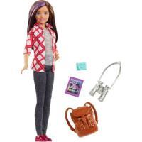 Boneca Barbie - Barbie Explorar E Descobrir - Morena - Mattel