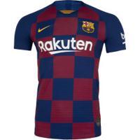 Camisa Barcelona I 19/20 Nike - Jogador - Azul Escuro
