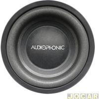"""Subwoofer - Audiophonic - 8"""" - 175W - Bobina Simples De 4 Ohms - Cada (Unidade) - S1-8-S4"""