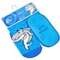 Meia Kidsplash! Bebê Antiderrapante Nana Shark Azul