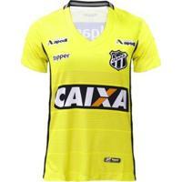 Camisa Goleiro Topper Ceará Oficial I 2018 Feminina - Feminino