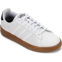 Tênis Adidas Grand Court Masculino - Masculino-Branco+Bege