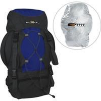 Mochila Nautika Cargueira 35 Litros + Capa De Proteção Everest - Unissex