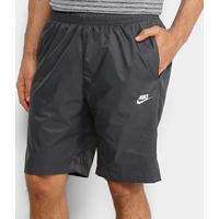 Short Nike Nsw Woven Core Masculino - Masculino-Branco