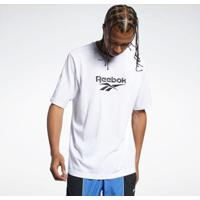 Camiseta Reebok Cl Premium Vector Tee Masculina - Masculino-Branco