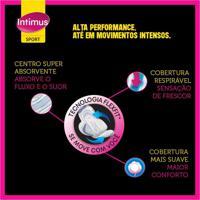 Absorvente Externo Intimus Sport Suave Com Abas Ultrafino 32 Unidades